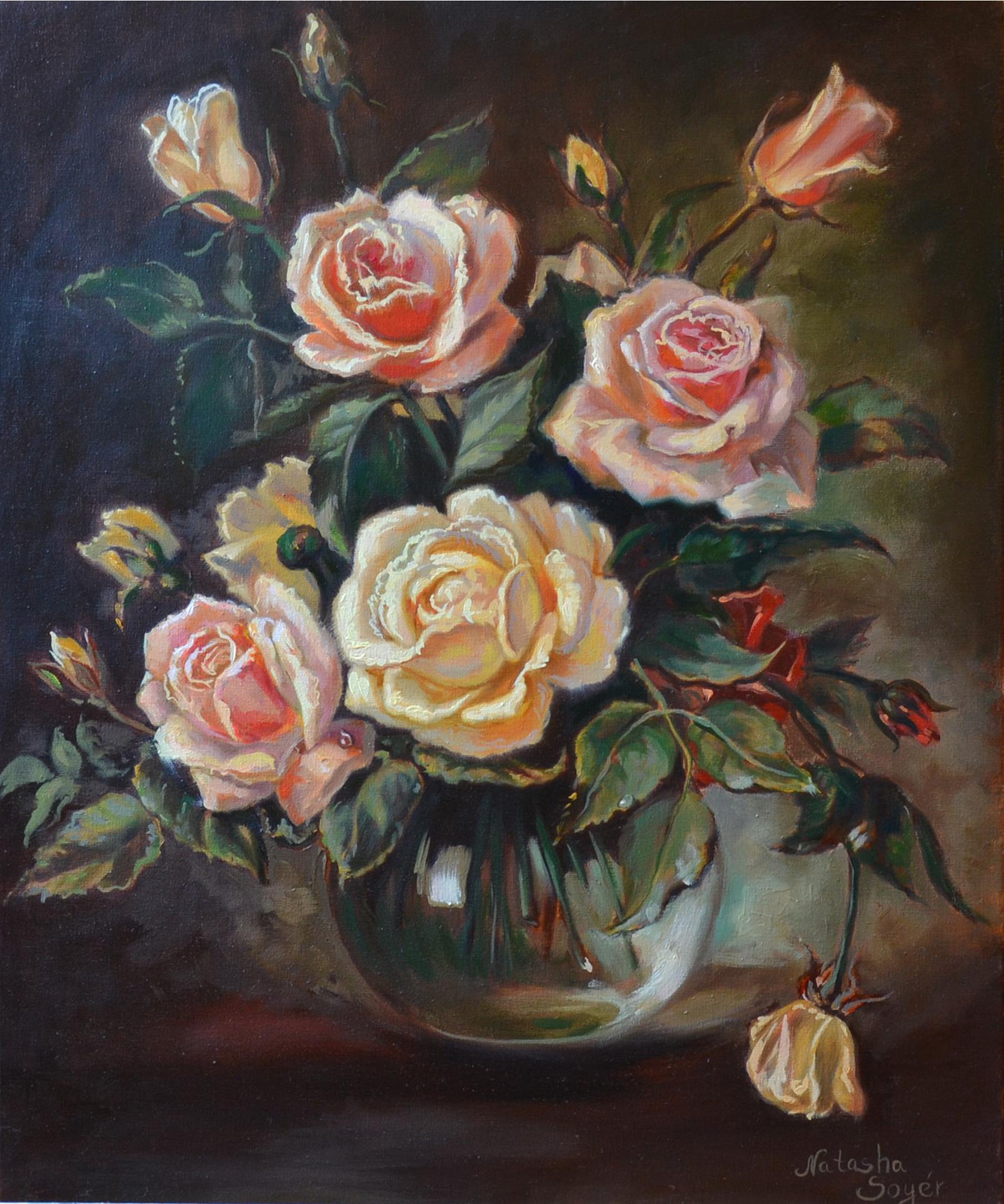Цветы Натюрморт
