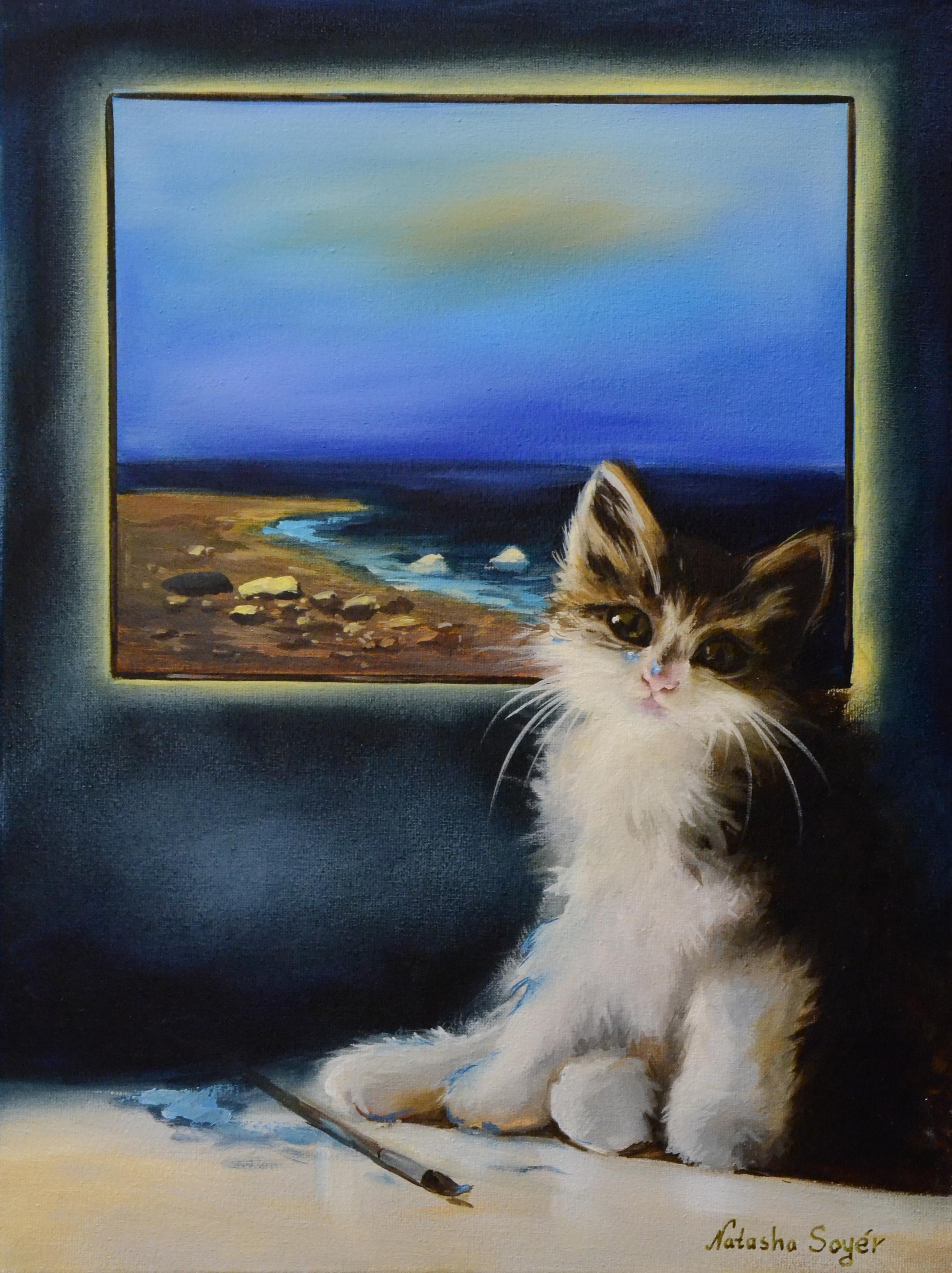 Коты В и ДЛЯ искусства