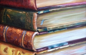 Time for reading 35х45 oil on canvas  (Sold)