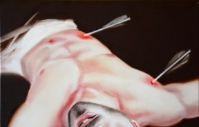 Saint Sebastian 35х45 cm oil on canvas